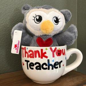 🍎Teacher Appreciation Mug and Owl Gift Set🍎